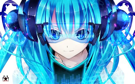 nightcore anime girl wallpaper hatsune miku hatsune miku photo 22895963 fanpop