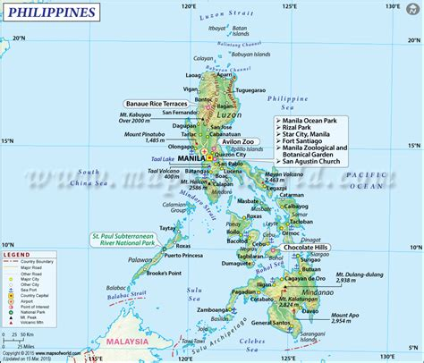 printable map philippines philippines corporation formation business startup