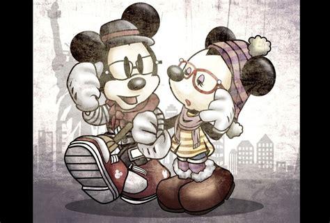imagenes hipster de mickey mouse de personajes de disney a figuras hipster grupo milenio