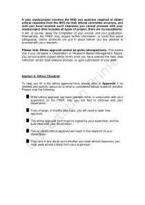 letter of conduct template ethics approval in research sle