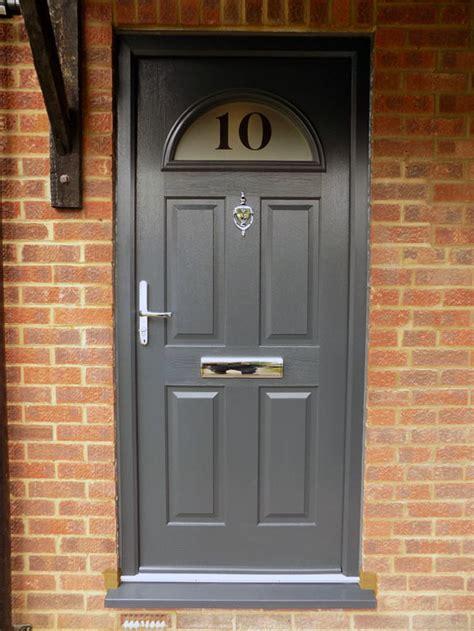 Composite Door Installation In Enfield North London New Composite Front Door