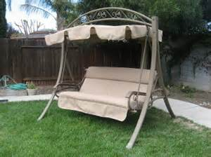 Patio Swing Costco by Costco Patio Swing Fabric Replacements All Models