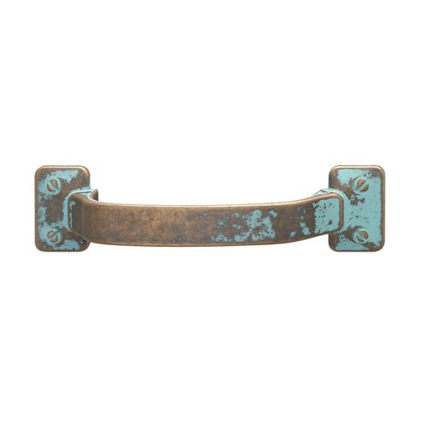 Drawer Pulls And Handles by Hafele 123 31 031 Traditional Zinc Pull Rustic Copper