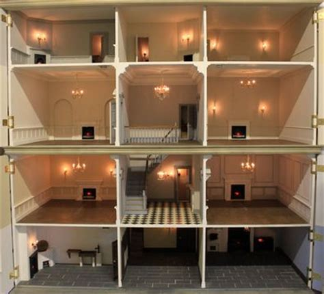 dolls house interiors anglia dolls houses ready to quot move in quot