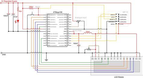 Analogue to Digital Conversion on an ATmega168 Protostack