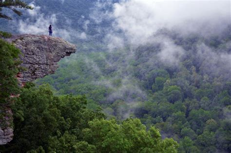 amazing places in the us hawksbill crag usa amazing places