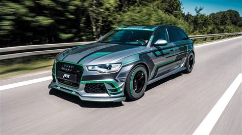 Audi Rs6 Abt by Abt Audi Rs6 E Hybrid Concept To 1004hp And Whopping