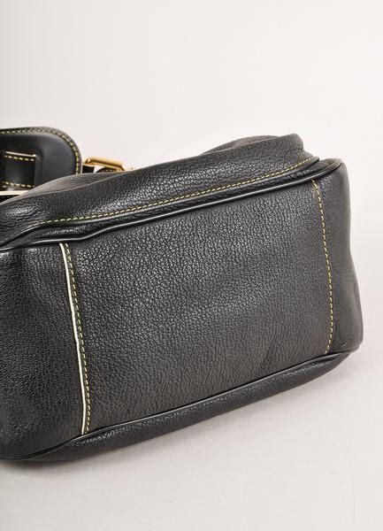 Wallet Chanel 4308 Kualitas Sale black leather studded suhali le confident shoulder bag