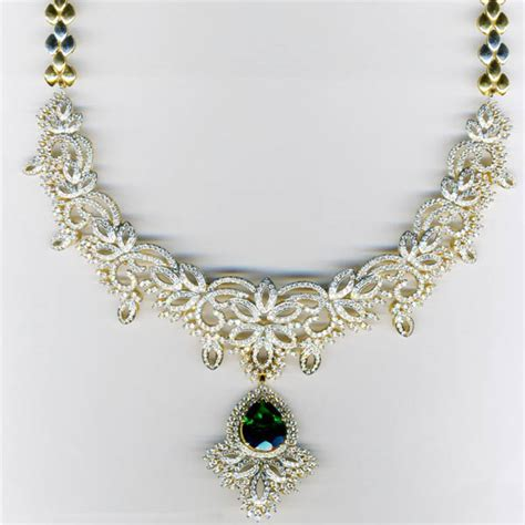 Necklace Design Ideas by Malar World Bridal Necklace Designs