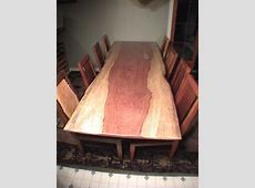 Rustic Custom Made Kitchen Tables: By Dumond's Custom ... Firewood Prices