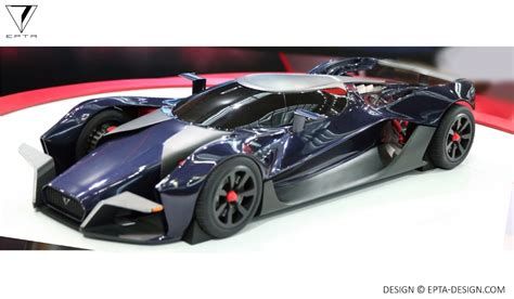 for car epta design creates electric hypercar