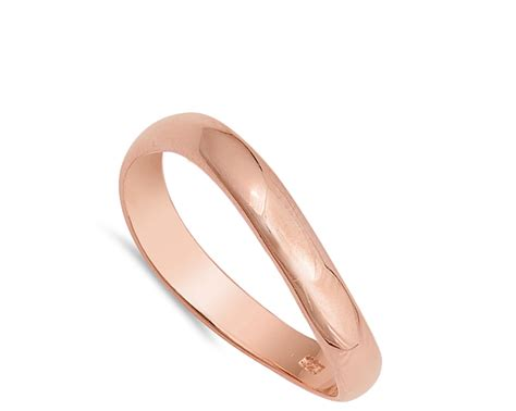 sterling silver comfort fit curved thumb ring 925 band ebay