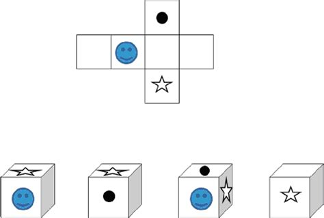 Paper Folding Test - rotating shapes