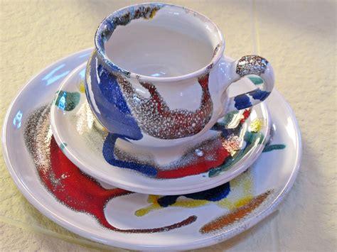 Keramik Geschirr Bunt geschmackvolles geschirr wohnaccessoires galerie kwozalla