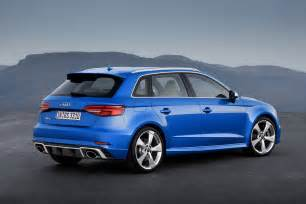 Audi Rs 3 Official 2017 Audi Rs3 Sportback Gtspirit
