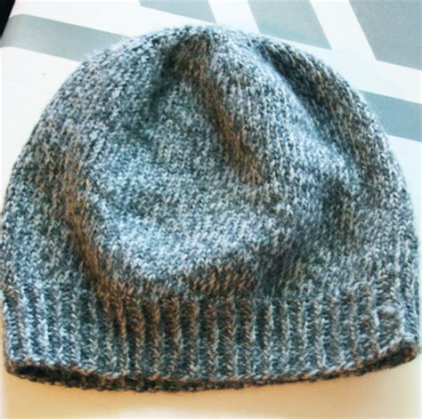easy knitted hat easy slouchy unisex beanie think crafts by createforless