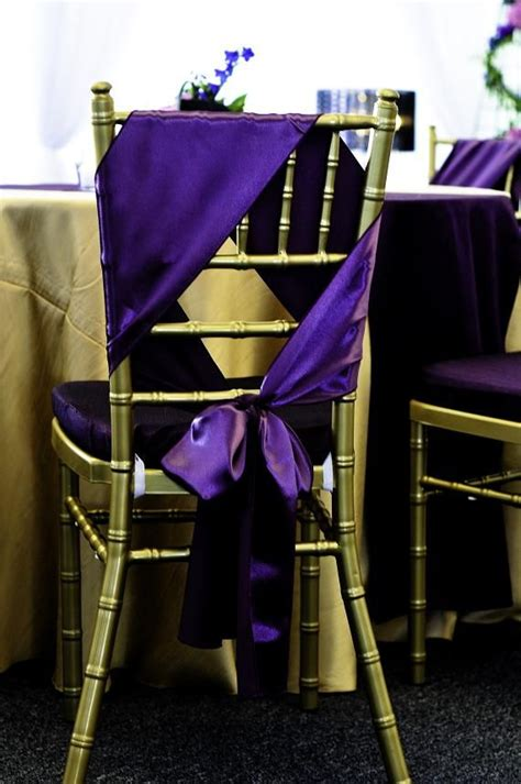 unique chair sash ties cool way to tie chair sash let s get married