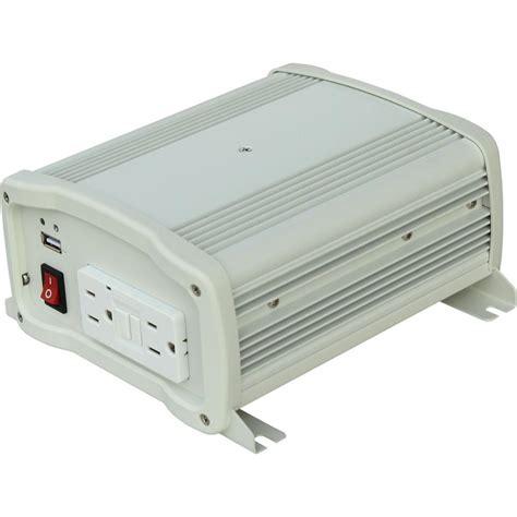 Visero Power Inverter 400 Watt kisae 400 watt sine wave inverter with ul csa sw1204 the home depot