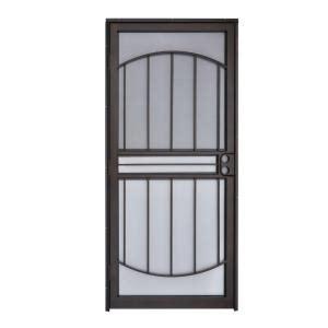 Copper Door Gift Card - grisham 32 in x 80 in 555 series tuscany copper vein steel prehung security door