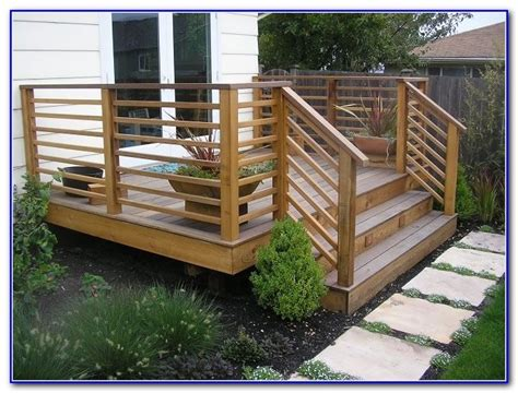 wood deck railing ideas decks home decorating ideas mrqvd