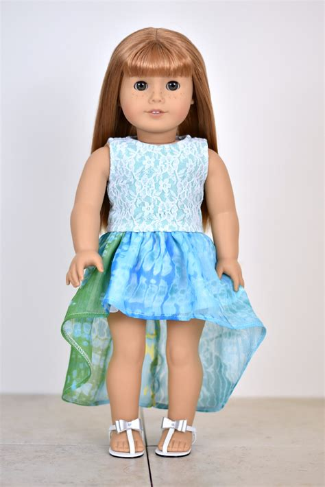 18 inch doll clothes lace top 18 inch doll clothes color sea foam