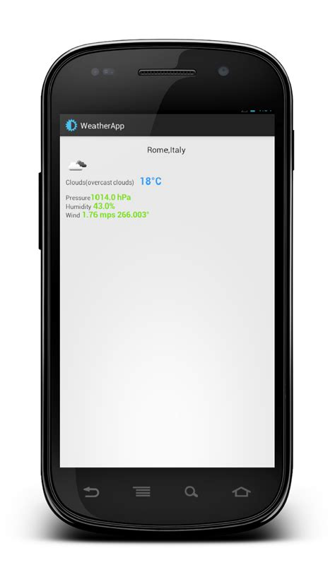 android http request android weather app json http and openweathermap