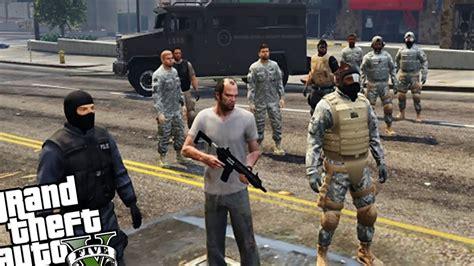 mod gta 5 bodyguard bodyguard army vs zombie horde gta 5 pc mod zombie