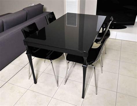 tavolo in vetro nero bontempi casa tavolo corinto plus allungabile offerta