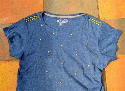 decorar ropa con tachas decorar camisetas con tachuelas customizar pinterest