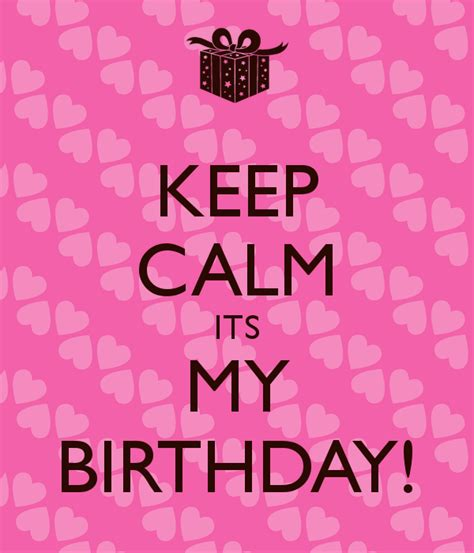 imagenes keep a calm it s my birthday month keep calm its my birthday poster amy keep calm o matic