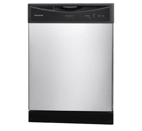 frigidaire dishwasher no lights ffbd2406ns frigidaire built in front control dishwasher