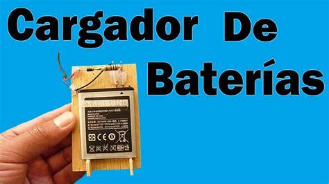 como hacer un cargador para moviles c 243 mo hacer un cargador de bater 237 as muy f 225 cil de hacer
