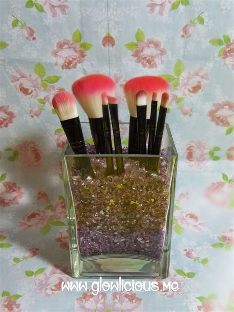 Tempat Makeup Aklirik Hzh 101 4 Diy Makeup Brush Holder Glowlicious Me Indonesia
