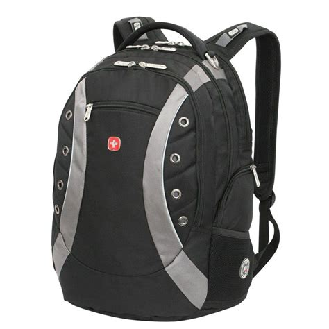 swissgear black laptop backpack 11912215 the home depot