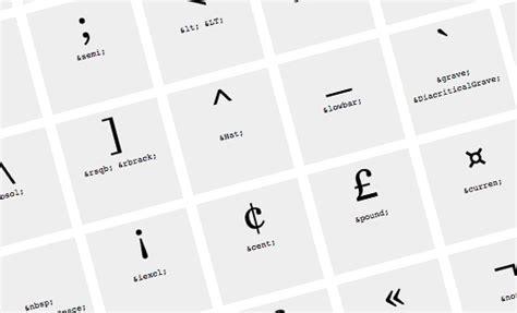 caratteri lettere speciali mammachebrava html caratteri speciali mammachebrava