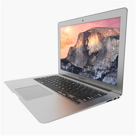 Macbook Air Replika macbook air 13 inch 3d model