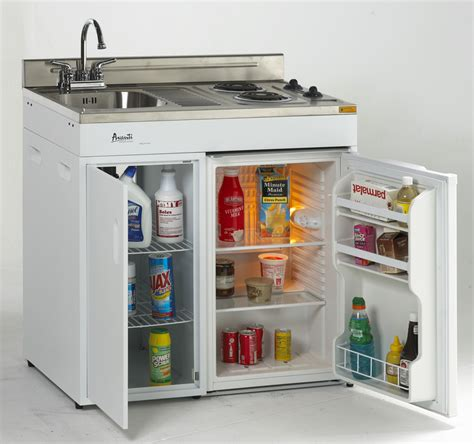 compact kitchen appliances compact kitchen with stove refrigerator and sink