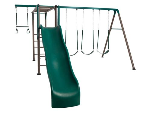 lifetime metal swing set lifetime swing set with monkey bars lifetime 90143