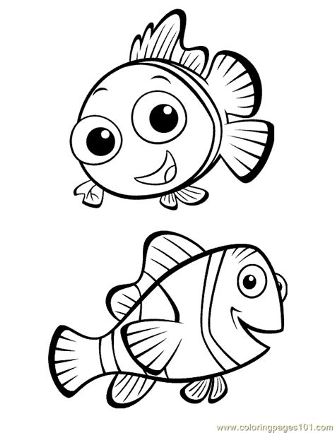 little nemo coloring pages nemo coloring page coloring home