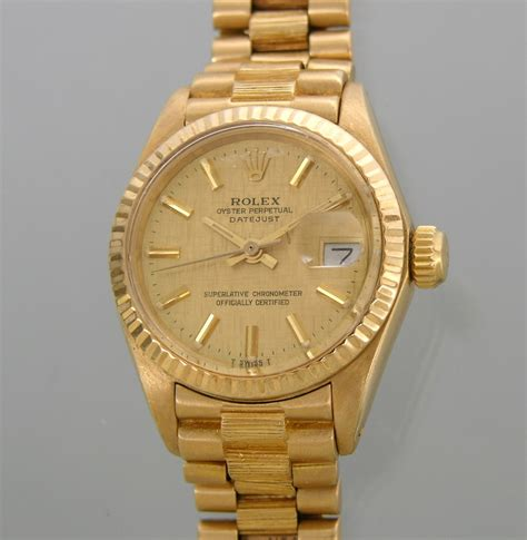 Rolex Oyster Perpetual Gold rolex oyster perpetual datejust gold 18k