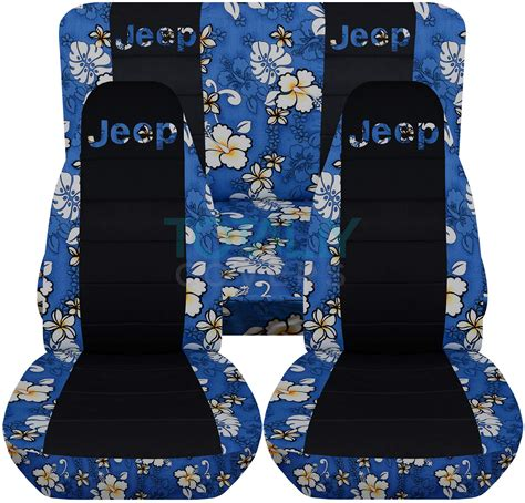 jeep wrangler seat covers hawaiian jeep wrangler yj tj jk 1987 2017 hawaiian black seat