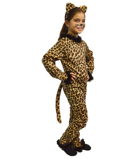 jaguar costume kids girls leopard bodysuit costume