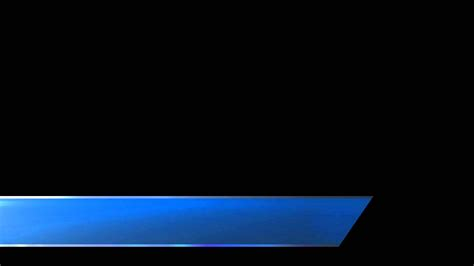 premiere lower third templates futuristic lower third blue free stock footage