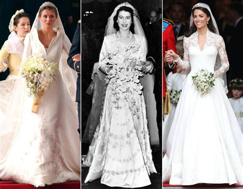 Wedding Hairstyles Through The Ages by Royal Wedding Dresses Through The Years Royal Galleries