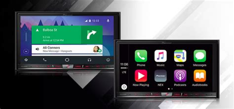 themes for android auto pioneer unveils 2016 head unit models with android auto