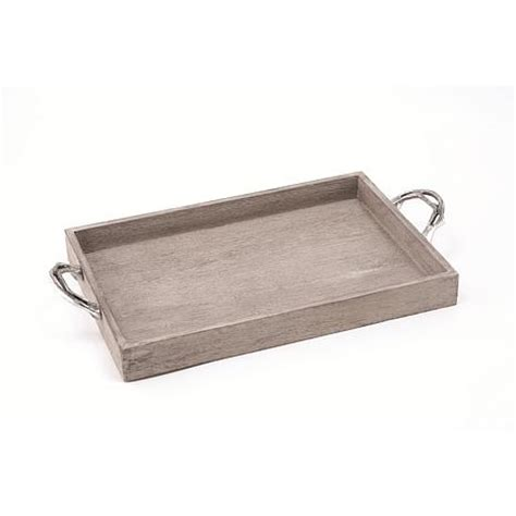 wood trays for ottomans weathered wood ottoman tray 7185401 hsn