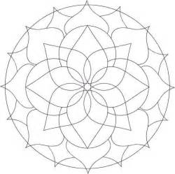 easy mandala coloring pages free coloring pages of simple mandala s