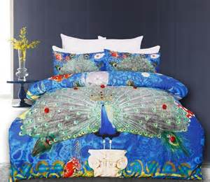 Duvet Covers On Sale Queen Stunning Peacock Blue Green Appliqued Quilt Cover Set