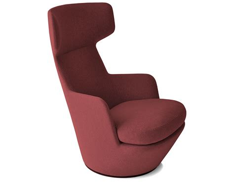 My turn swivel lounge chair hivemodern com