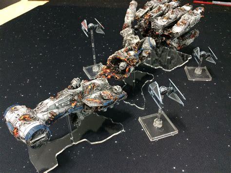 best x wing model destroyed blockade runner for wars x wing models
